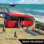 Floating Water Surface Bus Racing Game