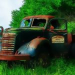 Old Rusted Trucks