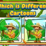 Which Is Different Cartoon